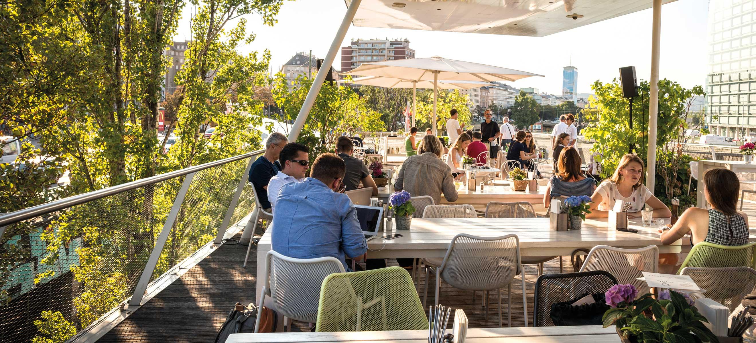 Top 10 Die Besten Rooftop Locations In Wien Falstaff