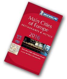 Guide Michelin Main Cities of Europe 2016