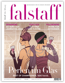 Cover Falstaff Magazin 08/2016