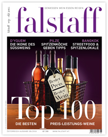 Cover Falstaff Magazin Nr. 06/2015 / © Falstaff Verlag