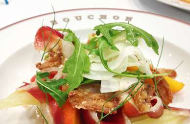 Authentisch, simpel, gut: der Fenchel-Enten-Salat