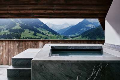 »The Alpina Gstaad« Panorama Suite