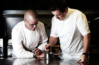 Heston Blumenthal (l.) und Ashley Palmer / Foto: beigestellt