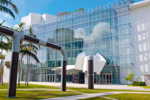 Die Konzerthalle des New World Center in Miami Beach.