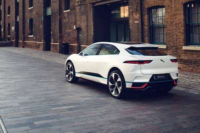 Jaguar I-PACE: I from Austria