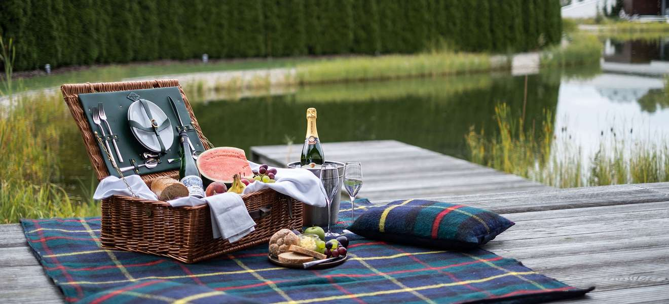 Picknick See Therme Geinberg