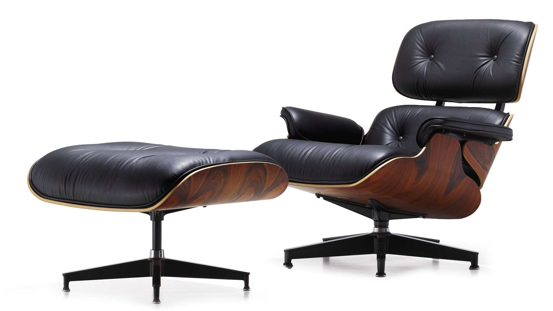 Lounge Chair von Ray & Charles Eames (1907-1978 & 1912-1988)