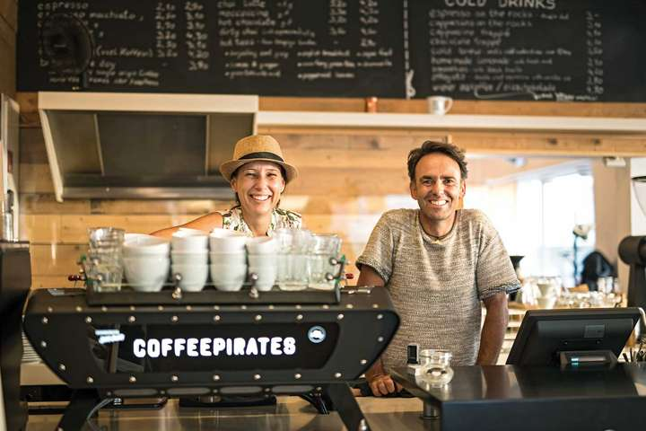Third-Wave-Coffee-Bar 2017: Coffee Pirates. / © UrbanPortraits.at