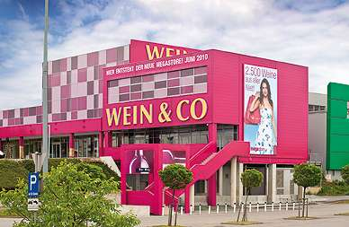 »Wein & Co«-Megastore