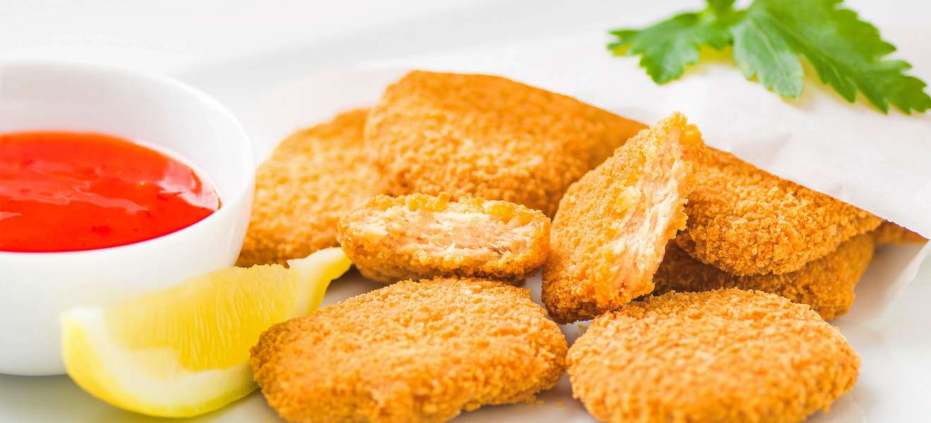 Die rein pflanzliche Alternative: Vegini Nuggets