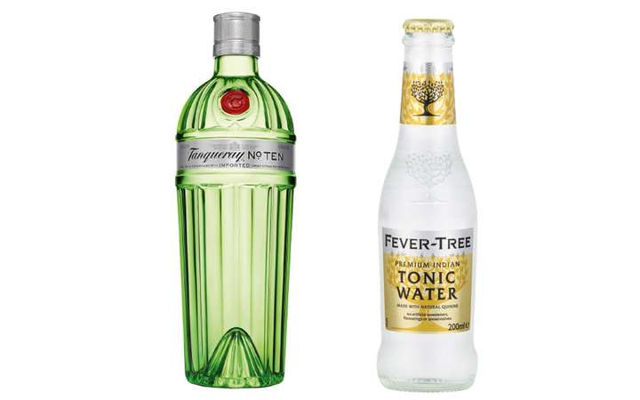 Tanqueray No. 10 + Fever-Tree Premium Indian Tonic Water