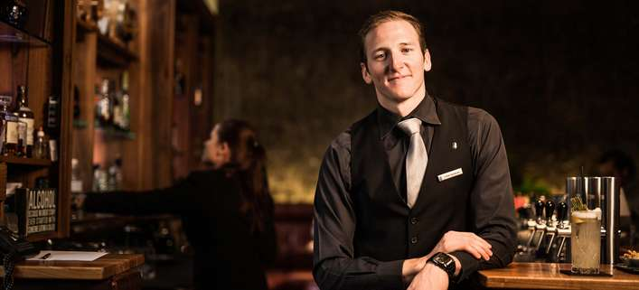 Lukas Hochmuth: »Falstaff Rookie of the year 2016« und Barmanager im Wiener »Ritz-Carlton«
