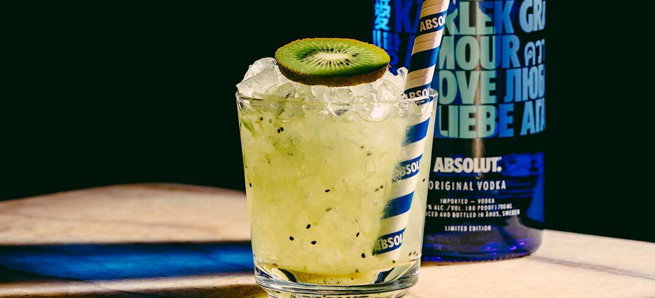 Absolut Kiwi Smash