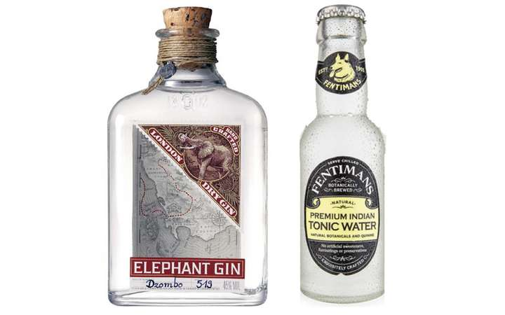 Elephant London Dry Gin + Fentimans Tonic Water