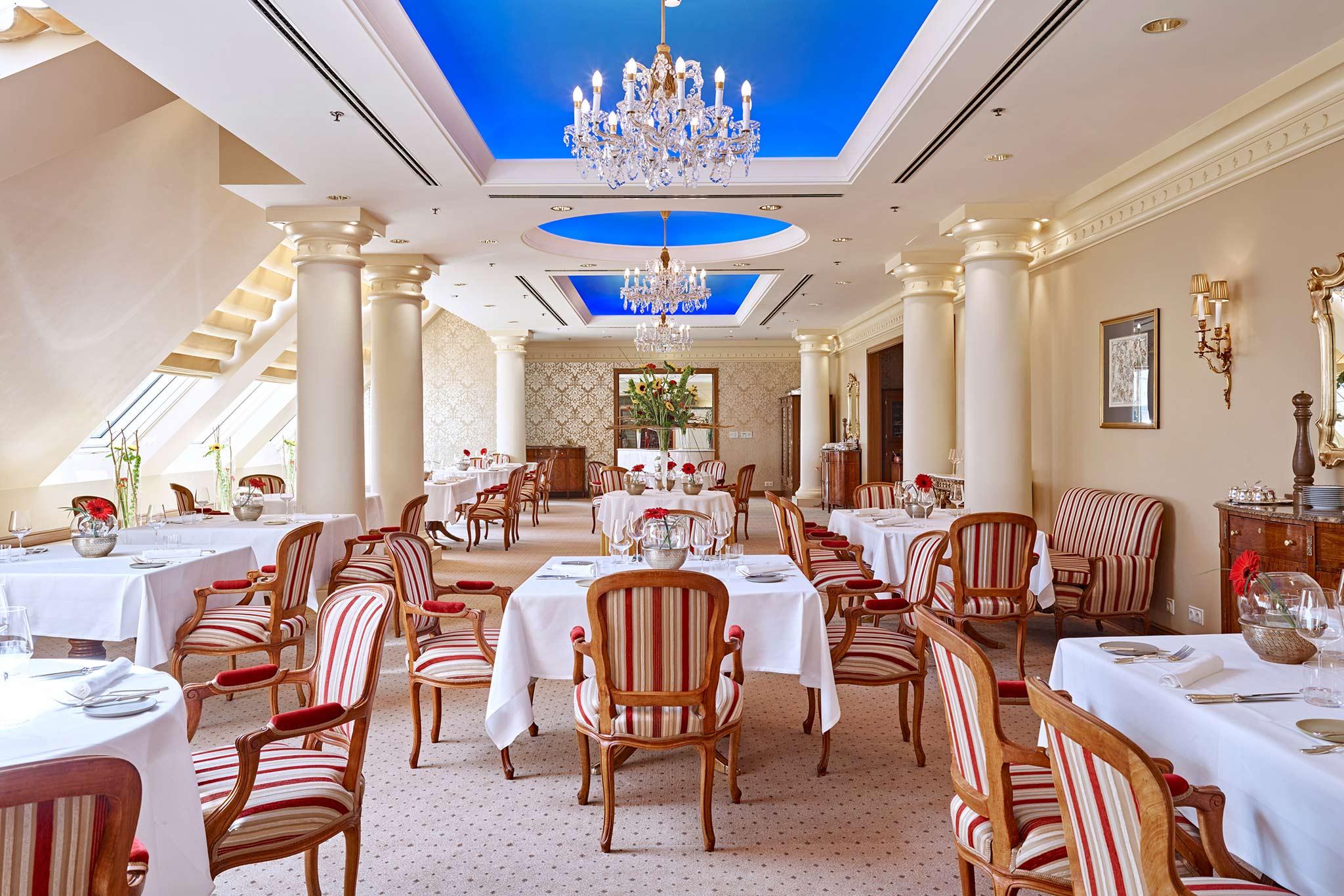 Restaurant Le Ciel By Toni Morwald Im Grand Hotel In 1010 Wien